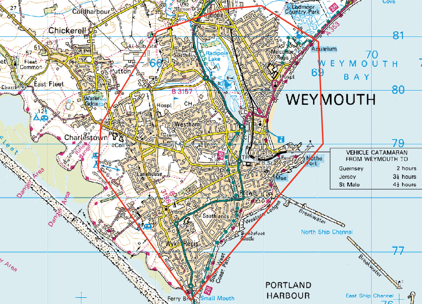 Weymouth England Region Map   Weymouth England • mappery