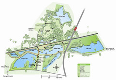 Whisby Nature Park Map