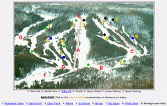 Whispering Pines Ski Trail Map