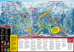 Whistler Blackcomb Trail map 2010-2011