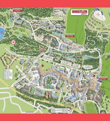 Whistler Village Map
