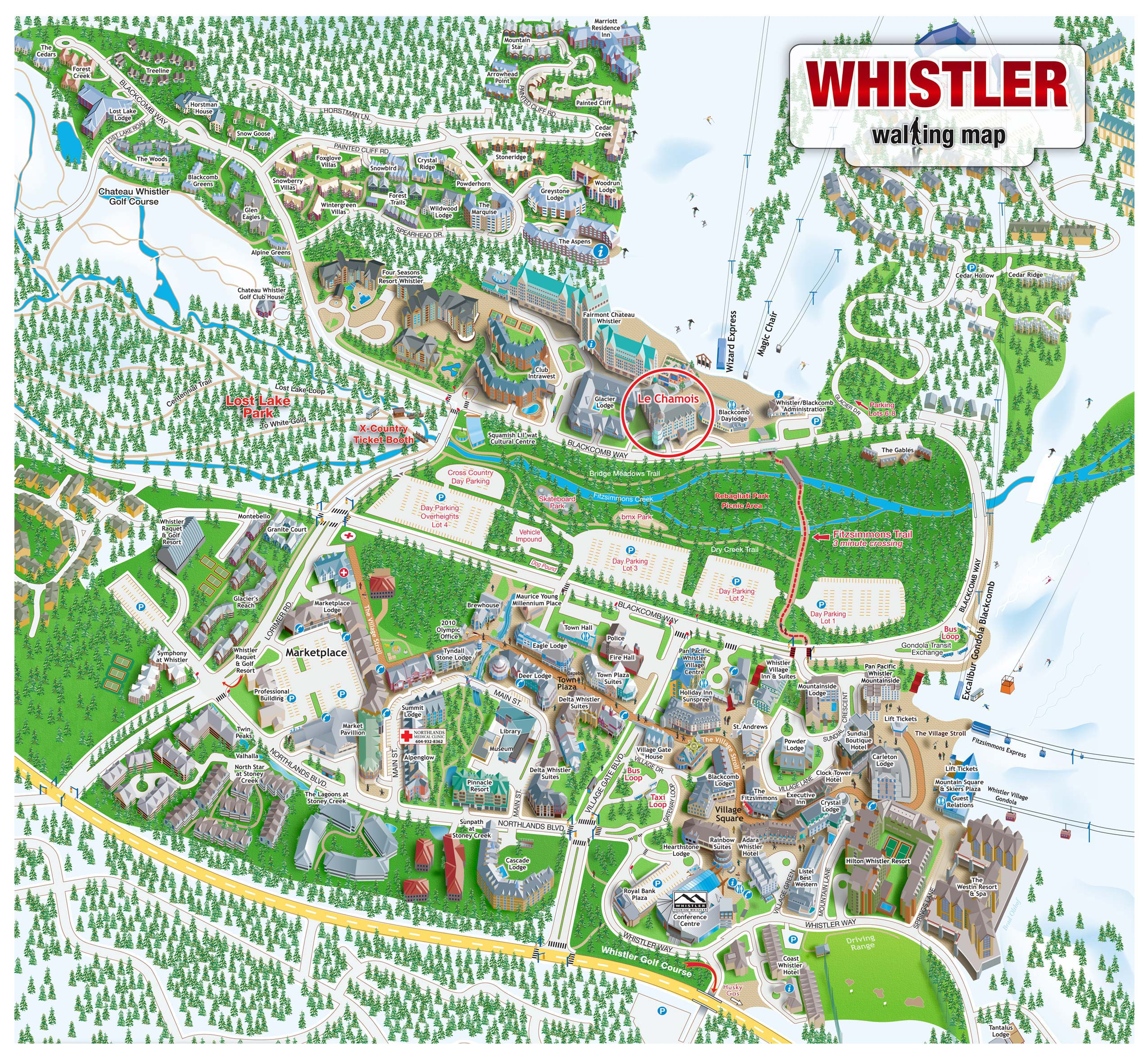 Whistler Blackcomb Whistler Village Map Whistler Bc Review Ebooks