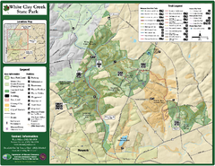 White Clay Creek State Park Map