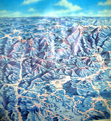 White Mountains New Hampshire Map
