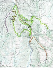 White River 50 Course Map
