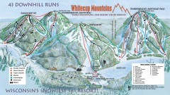 Whitecap Ski Trail Map