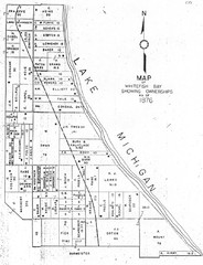 Whitefish Bay - 1876 Map