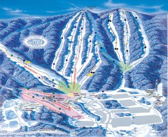Whitetail Ski Trail Map