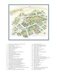 Whitman College Campus Map