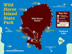 Wild Horse Island State Park Map