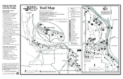 Wild River State Park Map