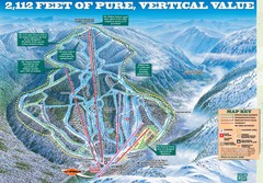 Wildcat Mountain Ski Trail Map