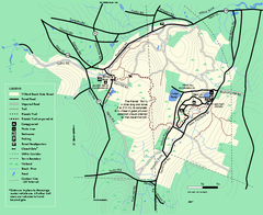 Willard Brook State Forest trail map