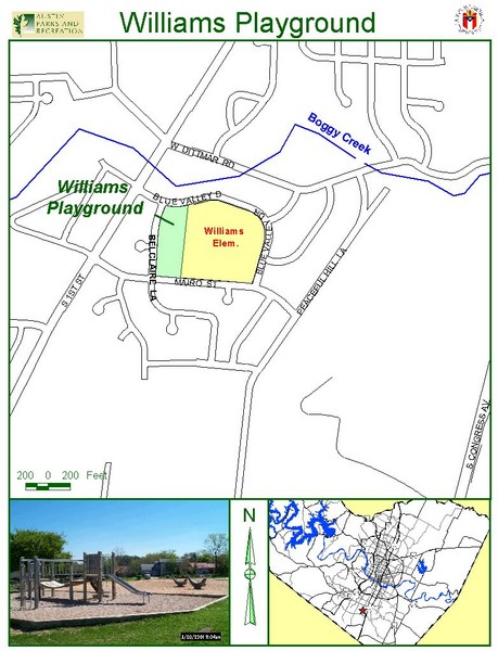 Williams Playground Map