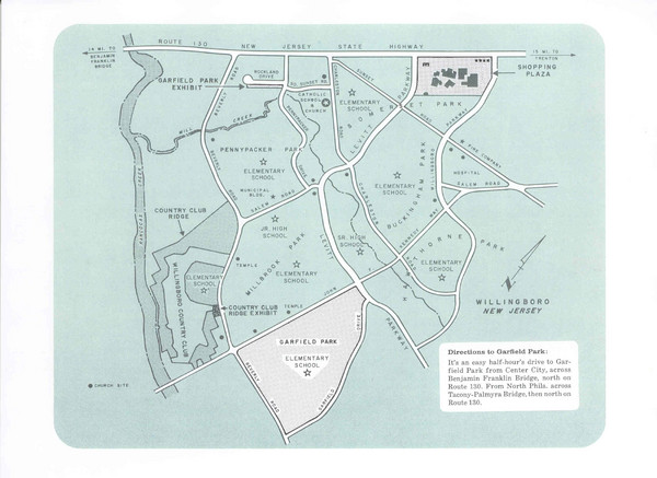 Willingboro Map