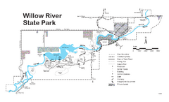 Willow River State Park Map
