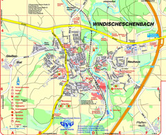 Windischeschenbach Tourist Map