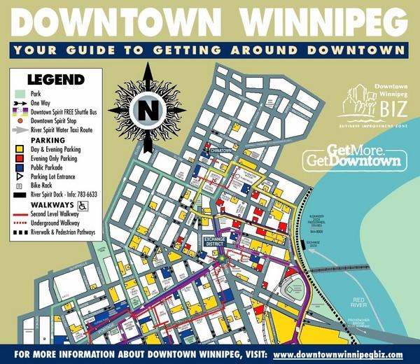 Winnipeg Manitoba City Map - WInnipeg Manitoba • mappery