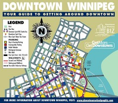 Winnipeg, Manitoba City Map