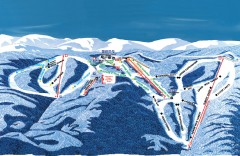 Wintergreen Ski Trail Map
