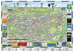 Woking Tourist Map