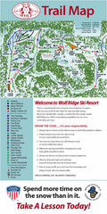 Wolf Laurel Ski Resort Ski Trail Map
