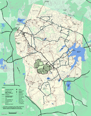 Wompatuck State Park trail map