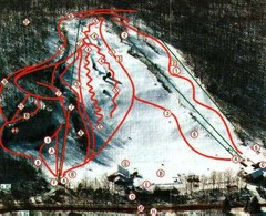 Woodbury Ski Area Ski Trail Map
