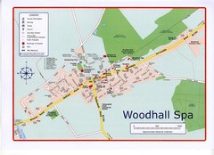 Woodhall Spa Map