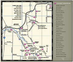 Woodinville Wine Country Map