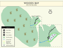 Woods Bay State Park Map