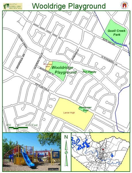 Wooldridge Playground Map