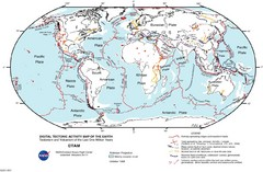 World Tectonic Map