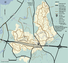 Wrentham State Forest trail map