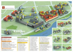 Wroclaw University of Technology Campus Map