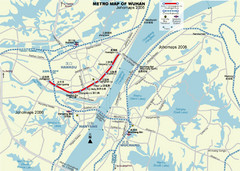 Wuhan City Map