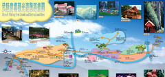 Wuling China Tourist Map