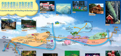 Wuling Farm Heping Tourist Map