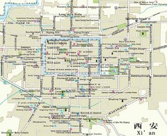 Xi'an City Map
