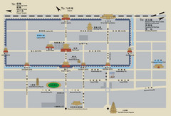 Xi'an Tourist Map