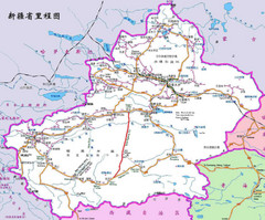Xinjiang Road Map
