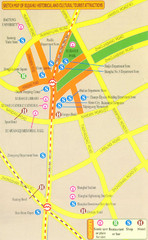 Xujiahui China Tourist Map