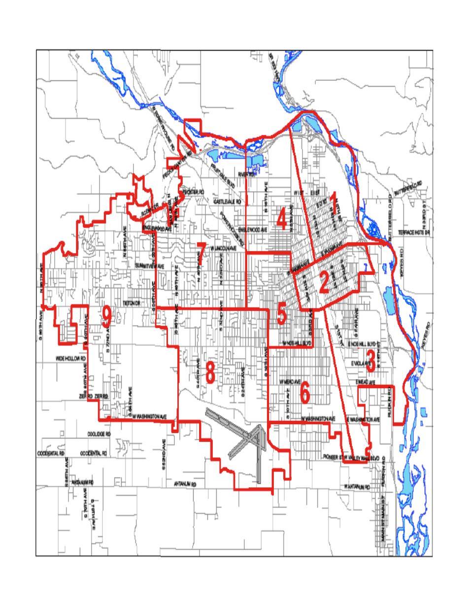 Yakima Washington City Map Yakima WAshington State Mappery - City map of washington state