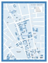 Yale University Campus North Map