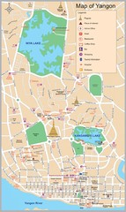 Yangon Map