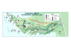 Yaquina Head Outstanding National Area Map