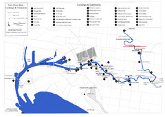 Yarra River Map