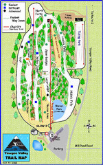 Yawgoo Valley Ski Area Ski Trail Map