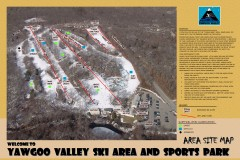 Yawgoo Valley Ski Trail map