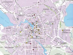Yekaterinburg City Map